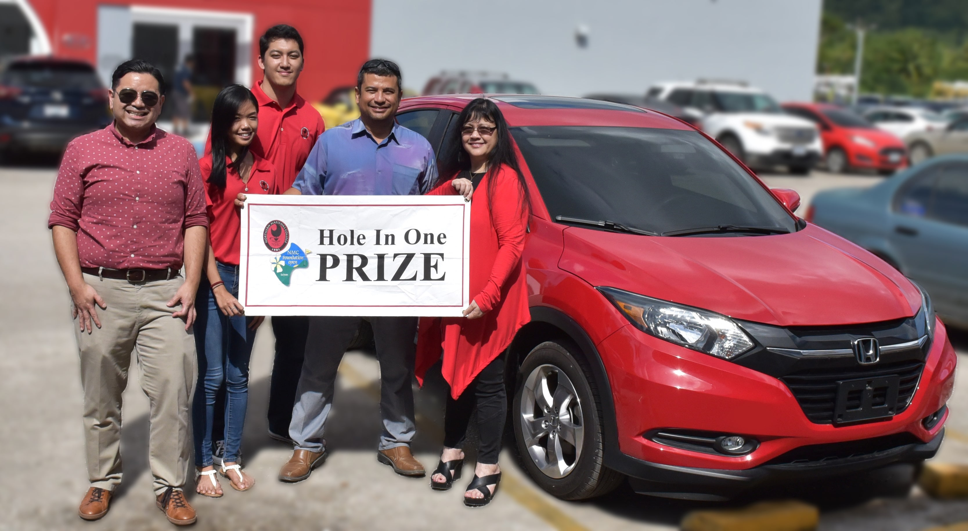 Joeten Motors has announced that it is offering a brand new Honda HRV as a hole-in-one prize in the upcoming 15th Annual NMC Foundation Golf Tournament.