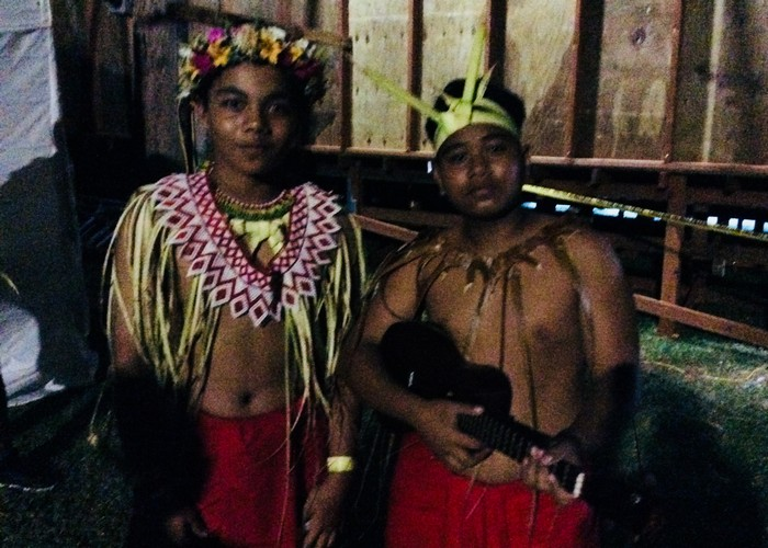Young traditional dancers.